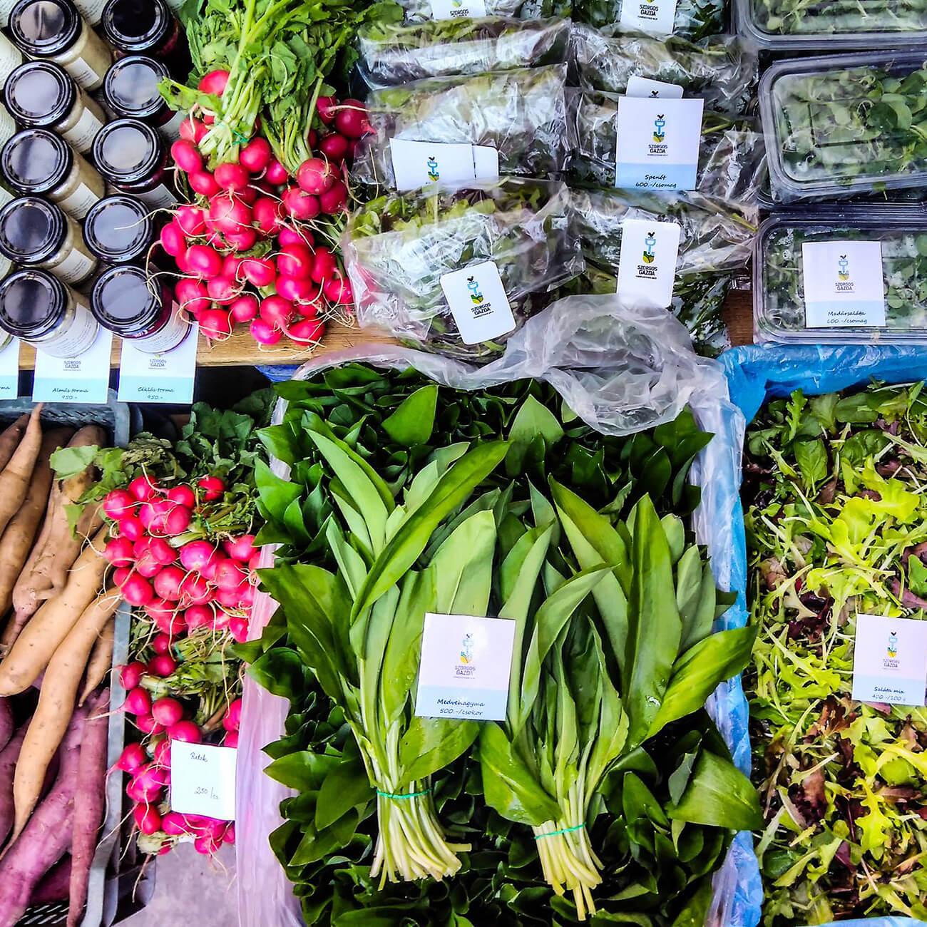 Sunday market Budapest
