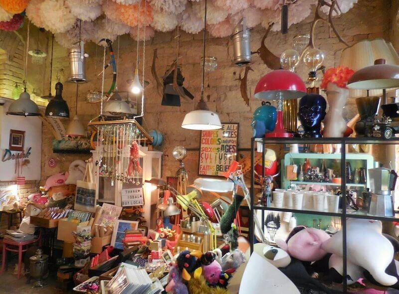 Designer store in Budapest