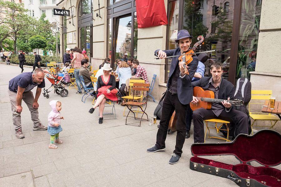 Cultural Festival on Bartok Boulvard