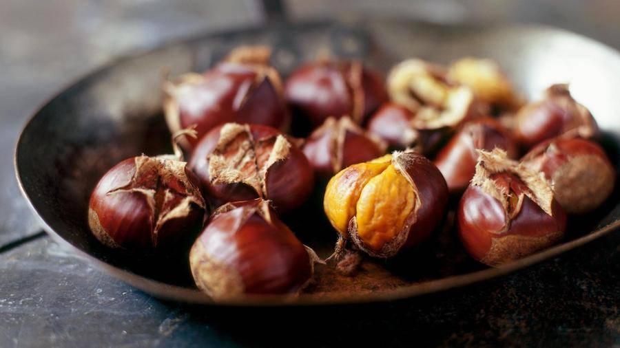 Roast chestnut